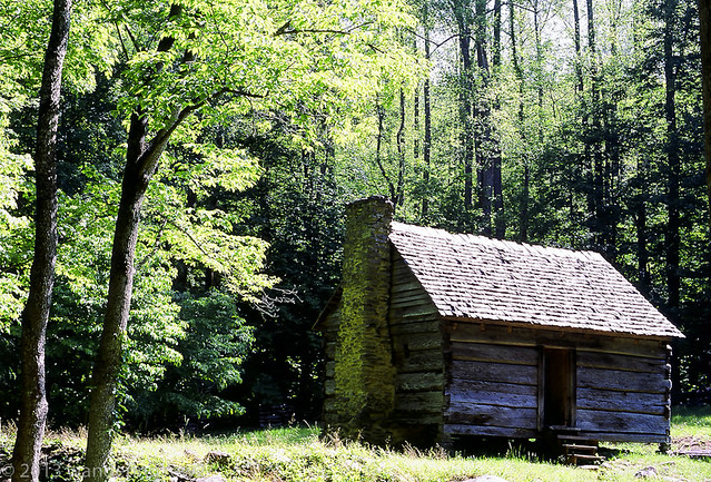 Appalachian smoky mts cabin tn flickr photo sharing for Appalachian mountain cabins