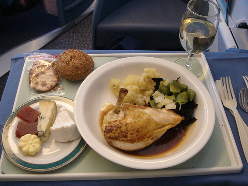 Air Canada International Executive First Class Meal