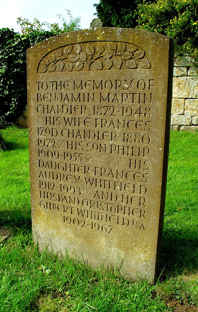 Iron stone, Chipping Campden churchyard.
