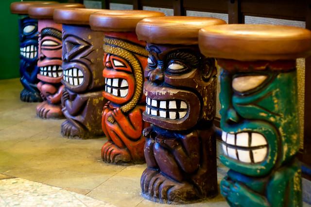 Tiki Bar Flickr Photo Sharing