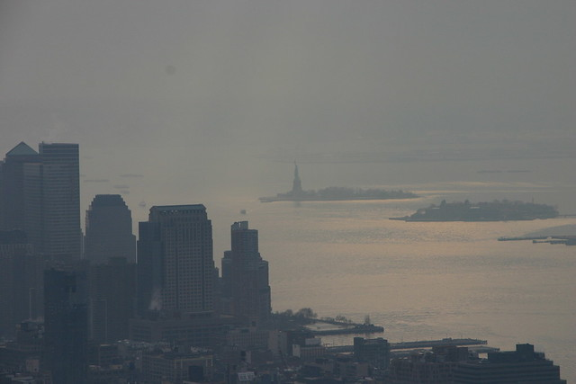 Blick vom Empire State Building - New York