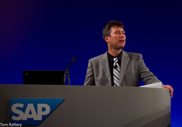 SAP former CEO Dr Peter Graf