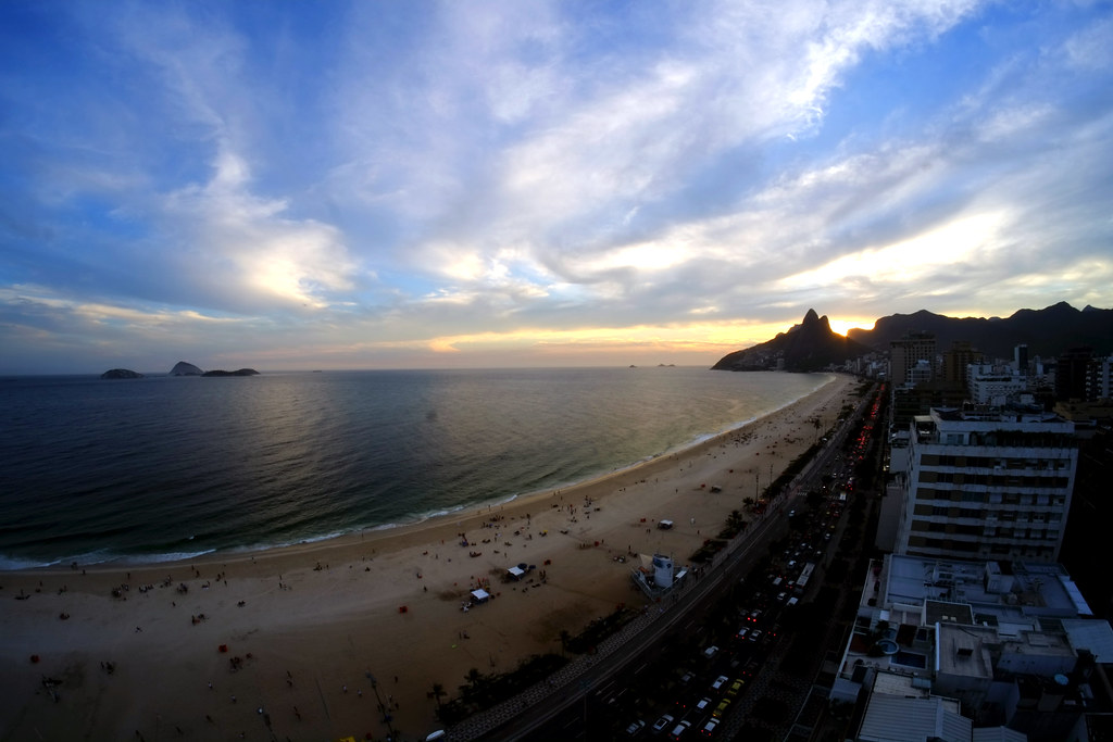 View of Ipanema Beach