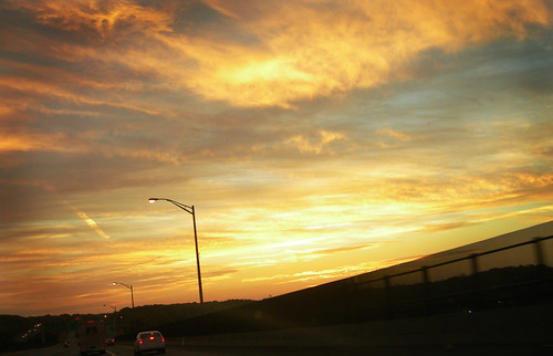 road morning november sunrise highway driving connecticut east freeway interstate morningcommute thamesriver i95 courtnayjaniak