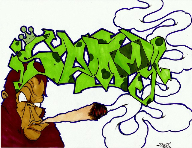 Graffiti Smoke Weed | www.imgkid.com - The Image Kid Has It!