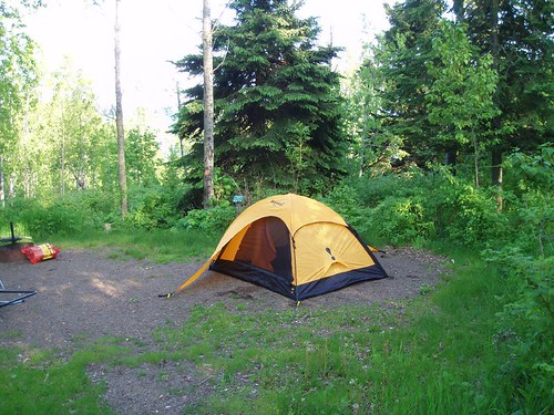 camping at tettegouche