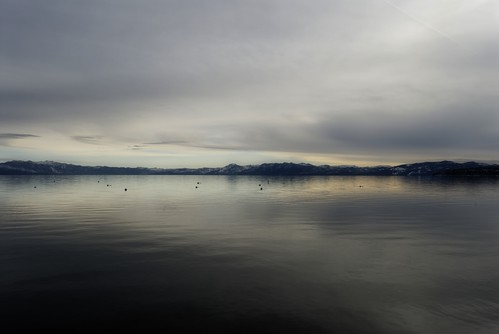 california winter lake dawn day cloudy tahoe tranquility laketahoe youvsthebest thepinnaclehof