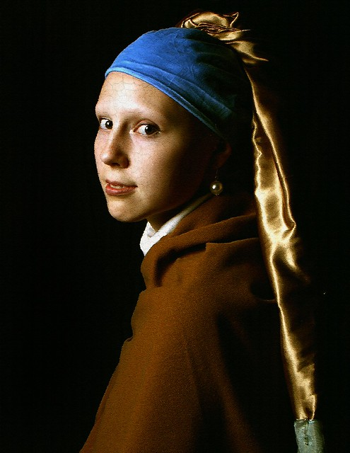johannes vermeer girl with a pearl Since 1881, johannes vermeer's masterpiece has been on display at the hague's mauritshuis museum a star attraction, girl with a pearl earring is rarely removed from public view.