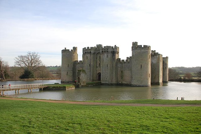 January 2008 - Bodiam Castle