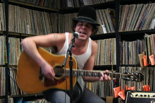 Langhorne Slim and War Eagles at KUCI