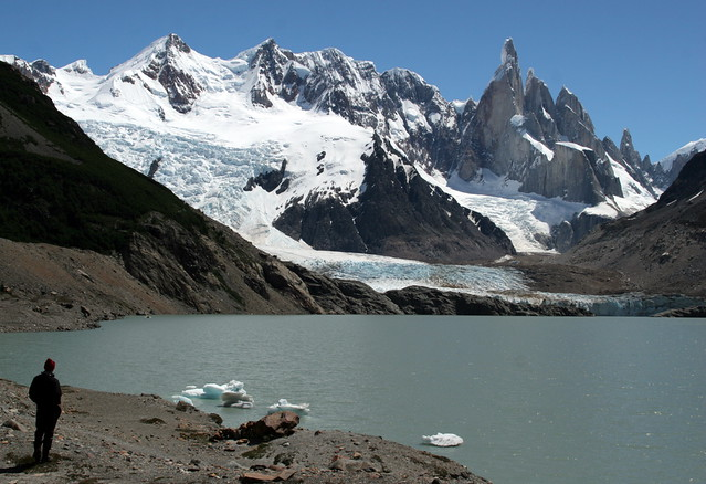 Appreciating Cerro Torre - Los Glaciares National Park - Patagonia - Argentina