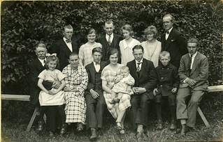 Söderberg Family in Harebo, Långasjö 1926