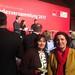 11. Februar 2017: 12. Februar 2017: Carola Reimann und Petra Stucke-Schröder beim Empfang der SPD-Bundestagsfraktion am Vorabend der Bundesversammlung