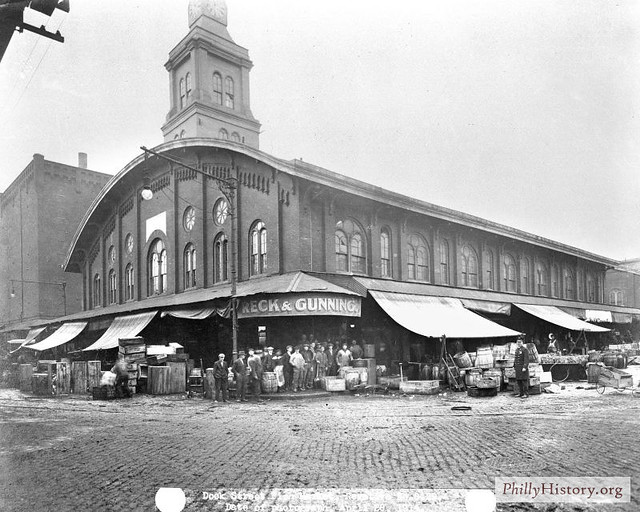 Dock street fish market 1914 flickr photo sharing for Fish market philadelphia
