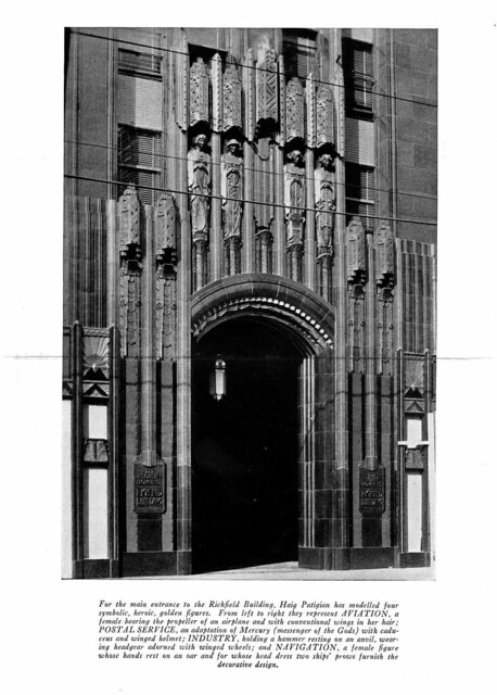 Richfield building 1930 california arts and architecture for Architecture 1930