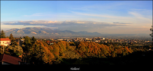 Velletri in autumn colours