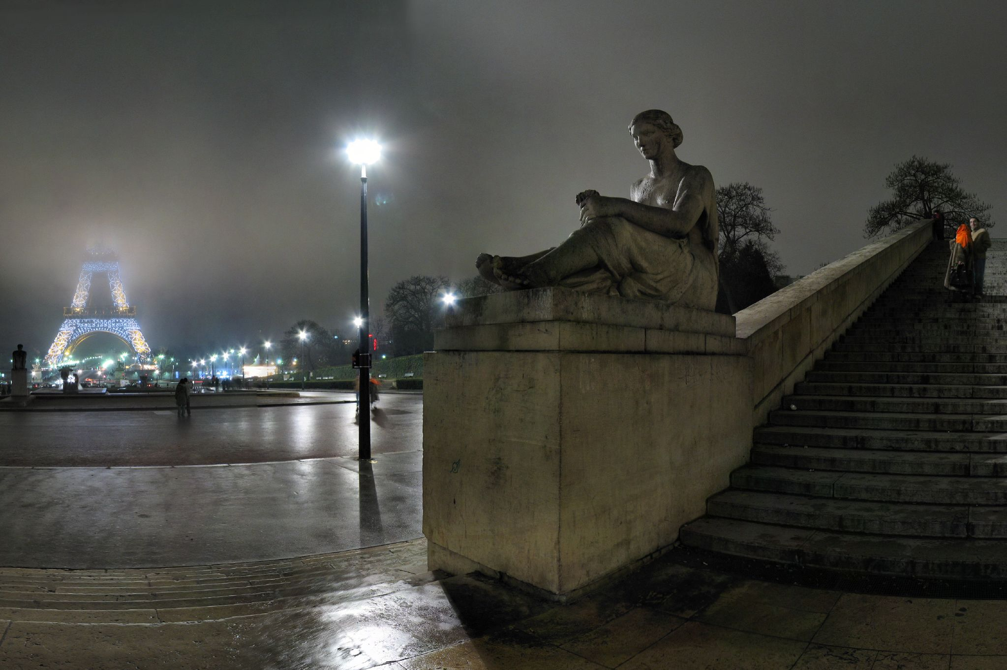 Paris - Trocadéro - 24-12-2007 - 21h59