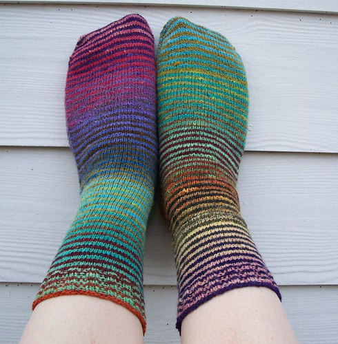 Noro Striped Socks