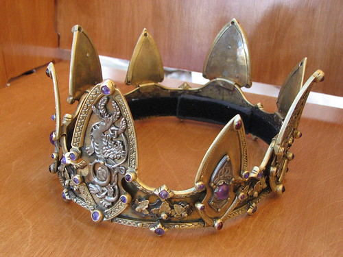 Crown of King Cedric Rolfsson of An Tir