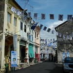 Penang Streets During Election Season - Malaysia