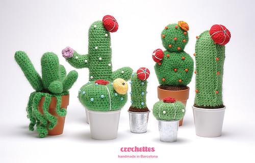Crochettes - Cactus serie