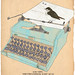 typewriter bird by tabithaemma86