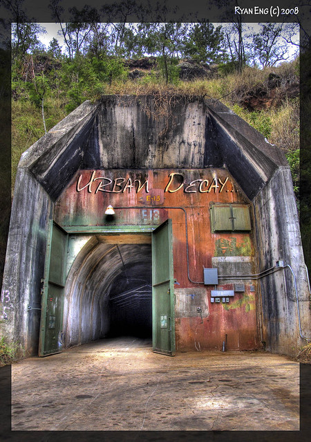 Abandoned Military Bunkers for Sale http://www.flickr.com/photos/ryaneng/2511682469/