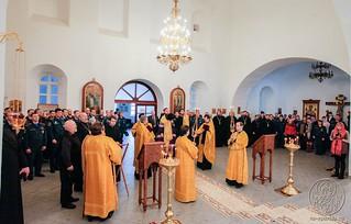 Молебен в Спасском соборе 285