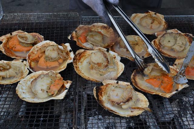 ジャンボホタテ貝焼き