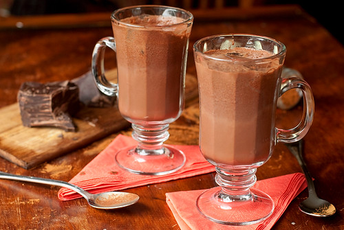 Iced Mexican Hot Chocolate