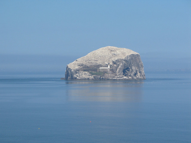 The Bass Rock from Tantallon Castle, East Lothian, Scotland | Emma Lamb