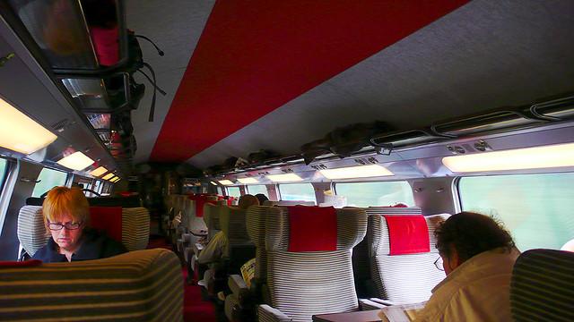 Que les trajets en TGV sont longs