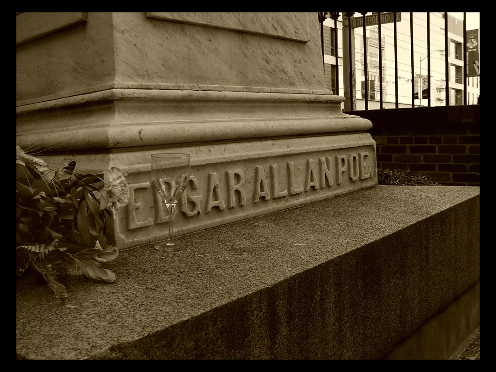Poe Grave in Baltimore, Maryland