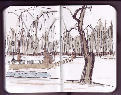 Como dibujar un parque imagui for Como iluminar un parque