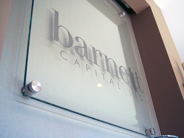 Etched Glass Signs Frosted Glass Signage Impact Signs