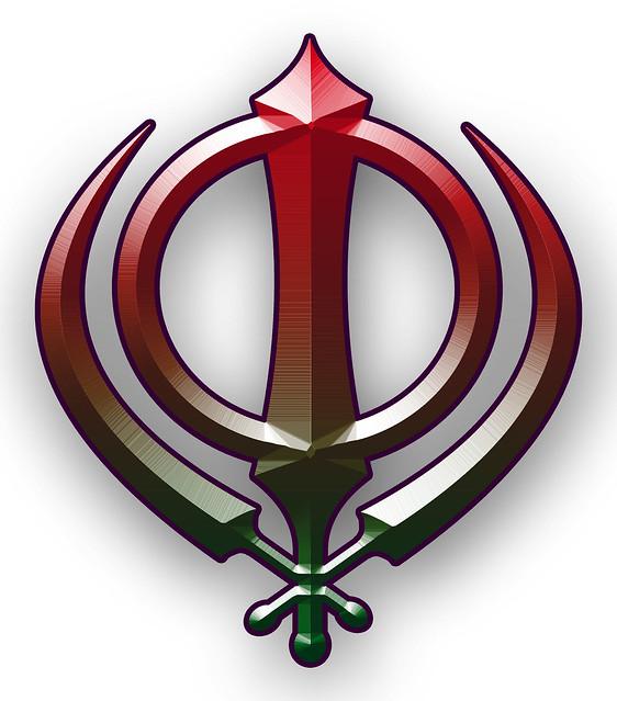 sikh symbol khanda flickr photo sharing
