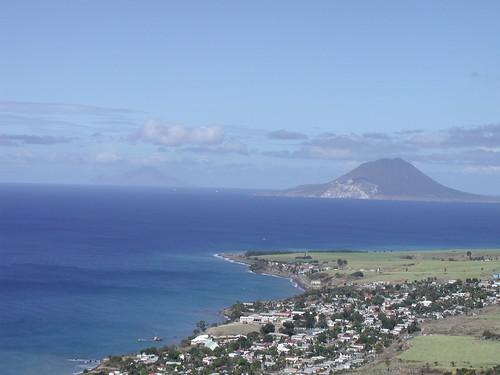 holiday island view caribbean stkitts statia alexhopkins brimstonefort