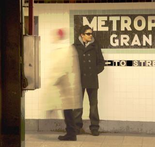 Roberto Poveda NYC Subway Portrait