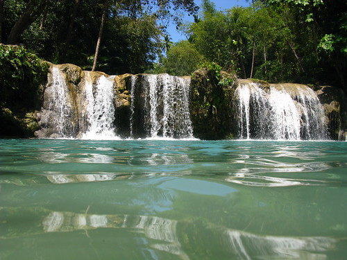 River Waterfall Nature Siquijor Island Philippines