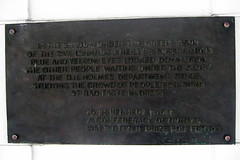 Photo of John Kennedy Toole bronze plaque