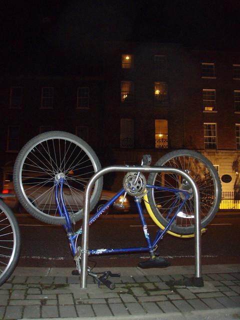 Creative bike parking
