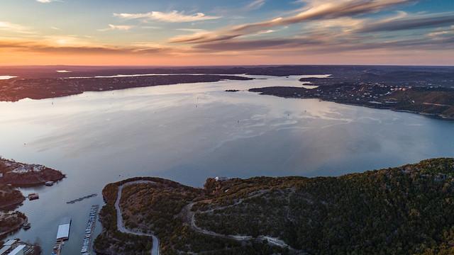 Sunset on Lake Travis