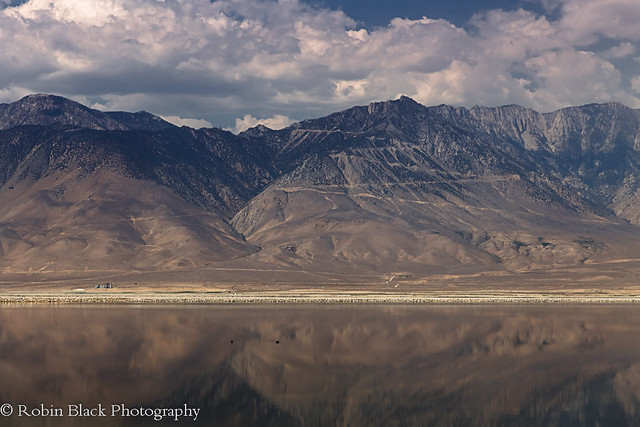 Owens Lake and the Sierra Crest