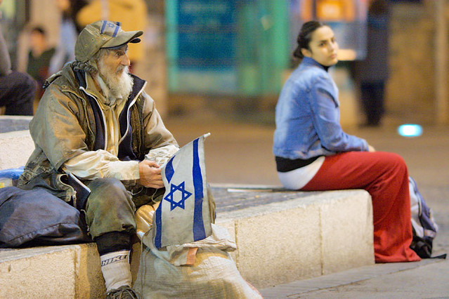 Homeless man in Jerusalem | Flickr - Photo Sharing!