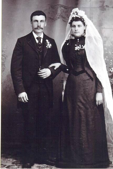 Peder Jerpbak's And Johanne Teigland's Wedding Day