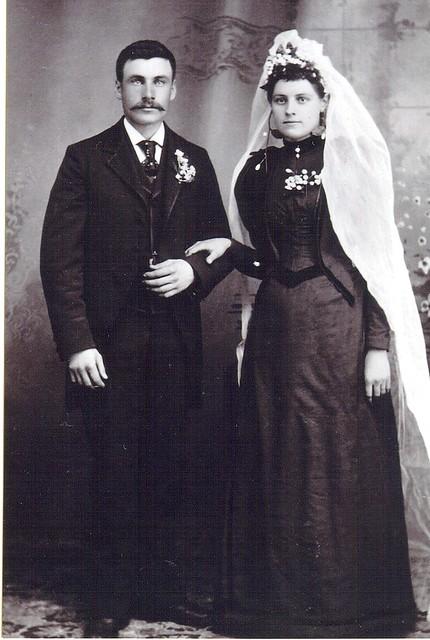 Peder Jerpbak's And Johanne Teigland's Wedding Day