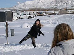 RV Internet snowball fight