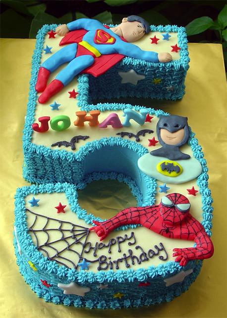 5 birthday cake