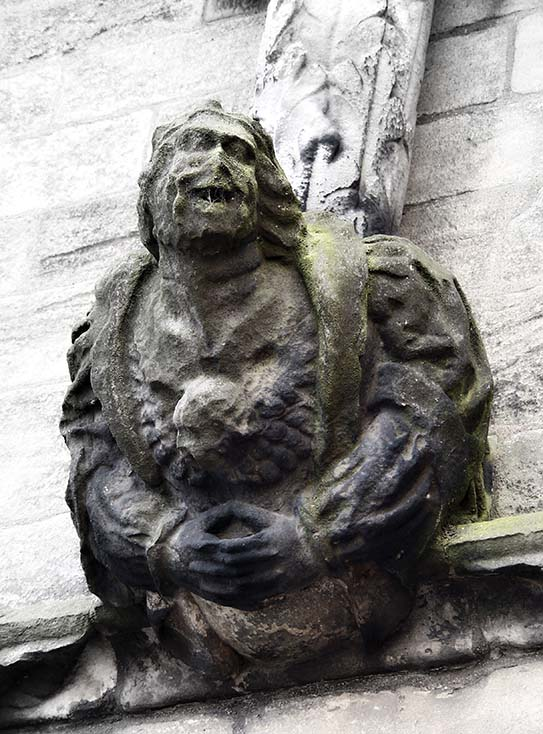 Photography - Laughing Statue by Nicholas M Vivian