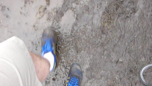 Jazz Fest 08 and Muddy Feet